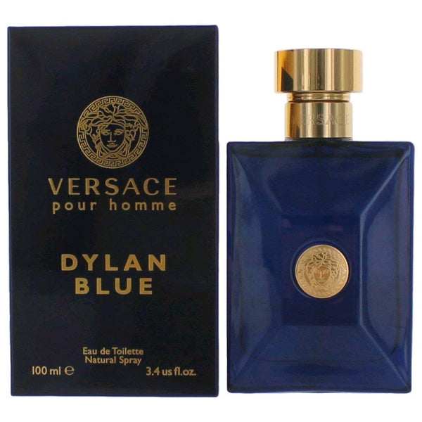 Versace Dylan Blue 3.4 Eau De Toilette Spray - Online Shopping Fragrances, Perfumes & Makeup Airdamour.com