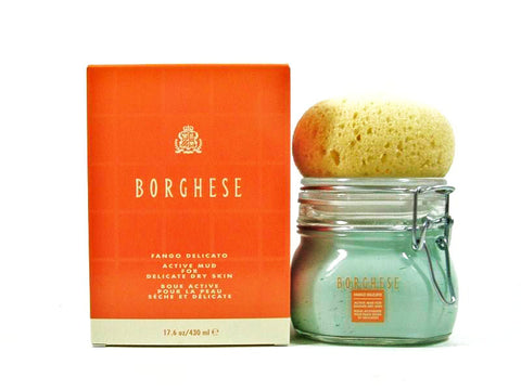 Borghese Fango Delicato Mud Mask for Face & Body 17.6 oz / 500g - Airdamour.com