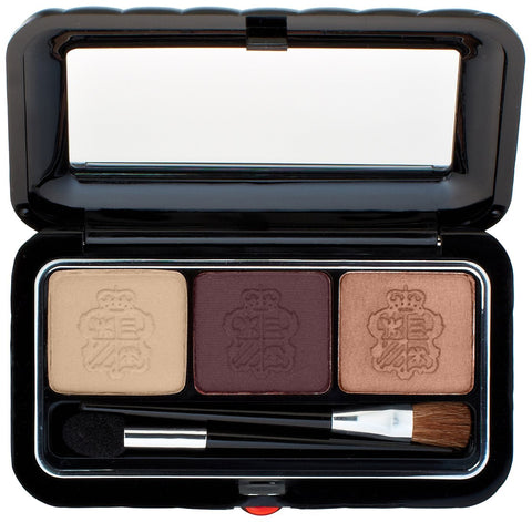 Borghese Satin Shadow Milano Trio # 06 Romantico Brown - Airdamour.com