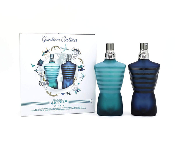 Jean Paul Gaultier Le Male 2 Piece Gift Set for Men - Online Shopping Fragrances, Perfumes & Makeup Airdamour.com