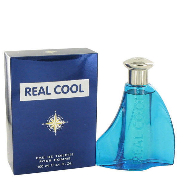 Real Cool Eau De Toilette Spray 3.4 oz For Men MADE IN ITALY - Airdamour.com
