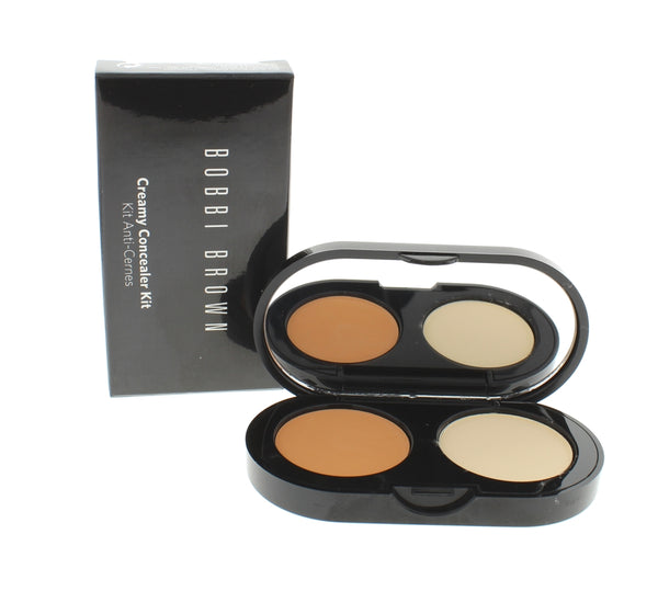 Bobbi Brown Cream Concealer Kit Sand Concealer + Pale Yellow Sheer Finished Pressed Powder 3.1g / 0.11oz - Online Shopping Fragrances, Perfumes & Makeup Airdamour.com