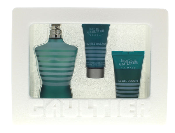 Jean Paul Gaultier Men Set 4.2 Edt Sp + 1.6 Shower Gel + 1 Oz After Shave Balm - Online Shopping Fragrances, Perfumes & Makeup Airdamour.com