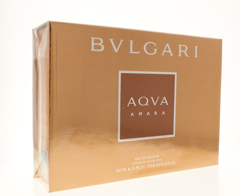 Bulgari Aqua Amara GiftSet  3.4 Oz & 0.5 Oz Eau De Toilette Spray - Online Shopping Fragrances, Perfumes & Makeup Airdamour.com