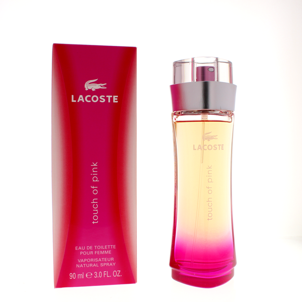 Lacoste Touch of Pink 3 Oz Eau De Toilette for Women