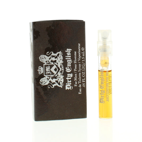 Juicy Couture Dirty English 0.05 Oz Vial Spray for Men - Airdamour.com