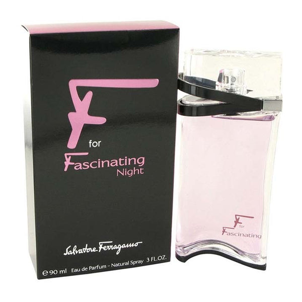 F for Fascinating Night by Salvatore Ferragamo EDP Spray 3 oz - Online Shopping Fragrances, Perfumes & Makeup Airdamour.com
