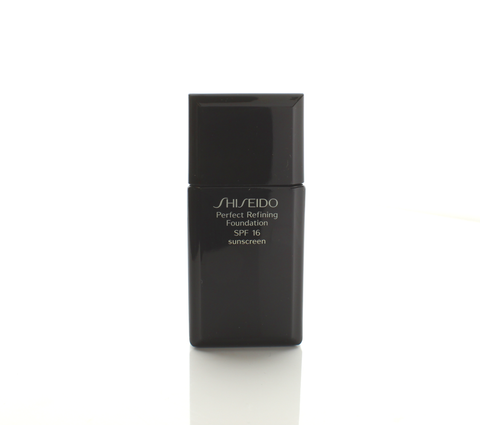 Shiseido Perfect Refining Foundation All Day Spf 16 1 Oz Very Deep Ivory # I 100 - Airdamour.com