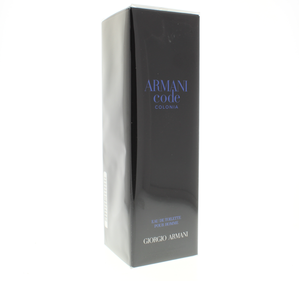 Giorgio Armani Code Colonia Pour Homme 4.2 OZ  Eau De Toilette Spray - Online Shopping Fragrances, Perfumes & Makeup Airdamour.com