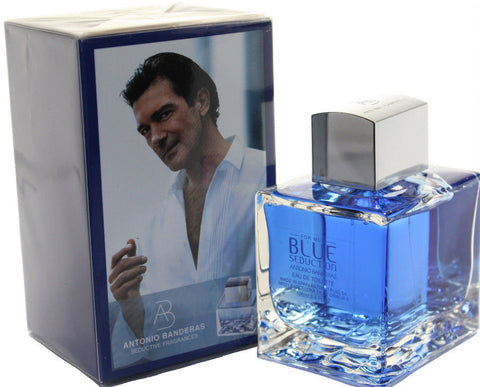 Antonio Banderas Blue Seduction for Men Eau de Toilette spray 0.5 fl oz - Online Shopping Fragrances, Perfumes & Makeup Airdamour.com