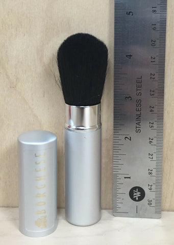 Borghese Retractable Face Blush Brush Silver