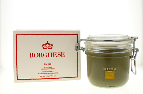 Borghese Fango Active 7.5 Mud Face & Body Jar - Online Shopping Fragrances, Perfumes & Makeup Airdamour.com