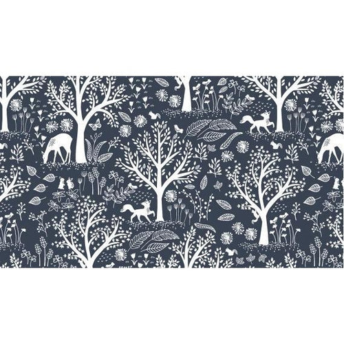 Starry Woods - Crib Sheet - Les Petits Loulous