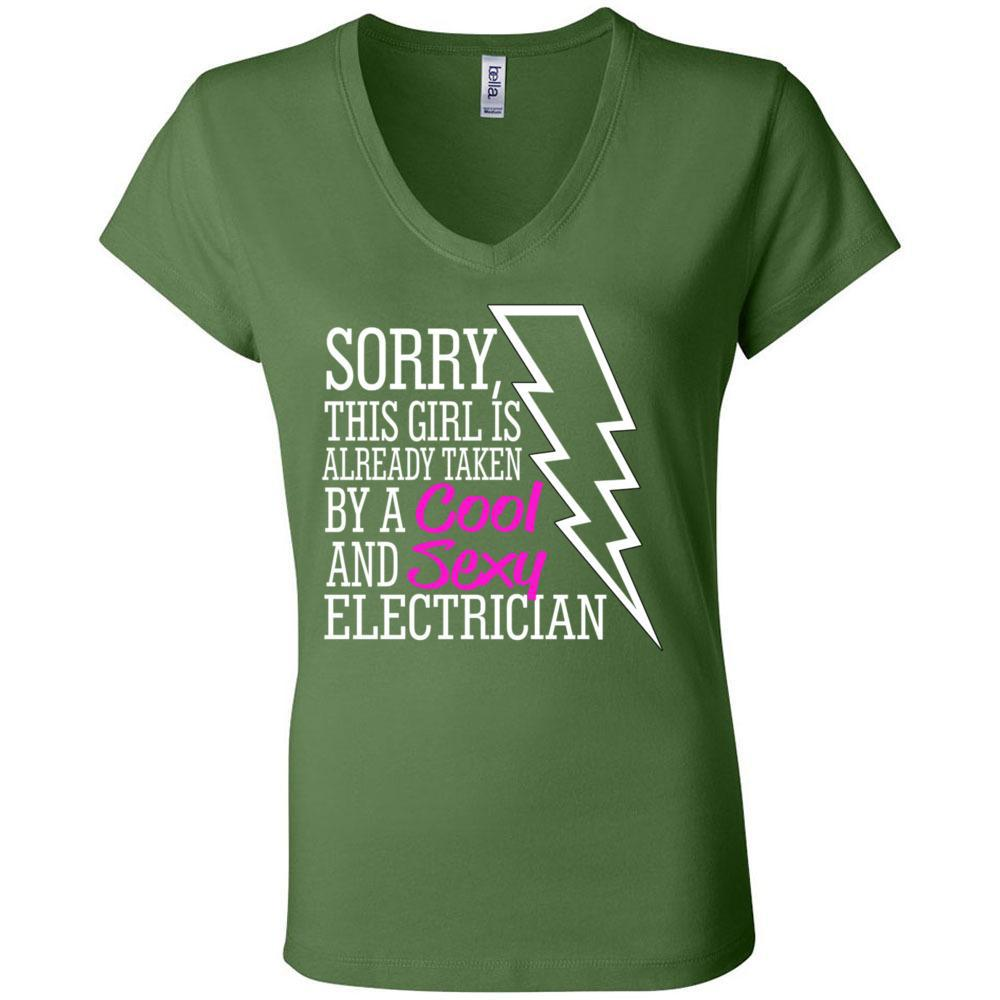 Taken by a Sexy Electrician, Funny Shirts with Sayings, Tees and Tanks, T-Shirts, Whip Me Wear Fashion & T-Shirts