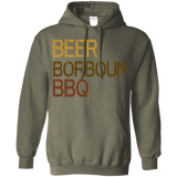 690 Beer Borboun BBQ  G185 Gildan Pullover Hoodie 8 oz., Sweatshirts, Whip Me Wear Fashion & T-Shirts
