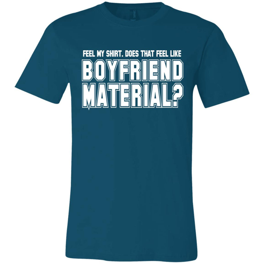 240 Boyfriend Material Unisex Jersey Short-Sleeve T-Shirt, T-Shirts, Whip Me Wear Fashion & T-Shirts