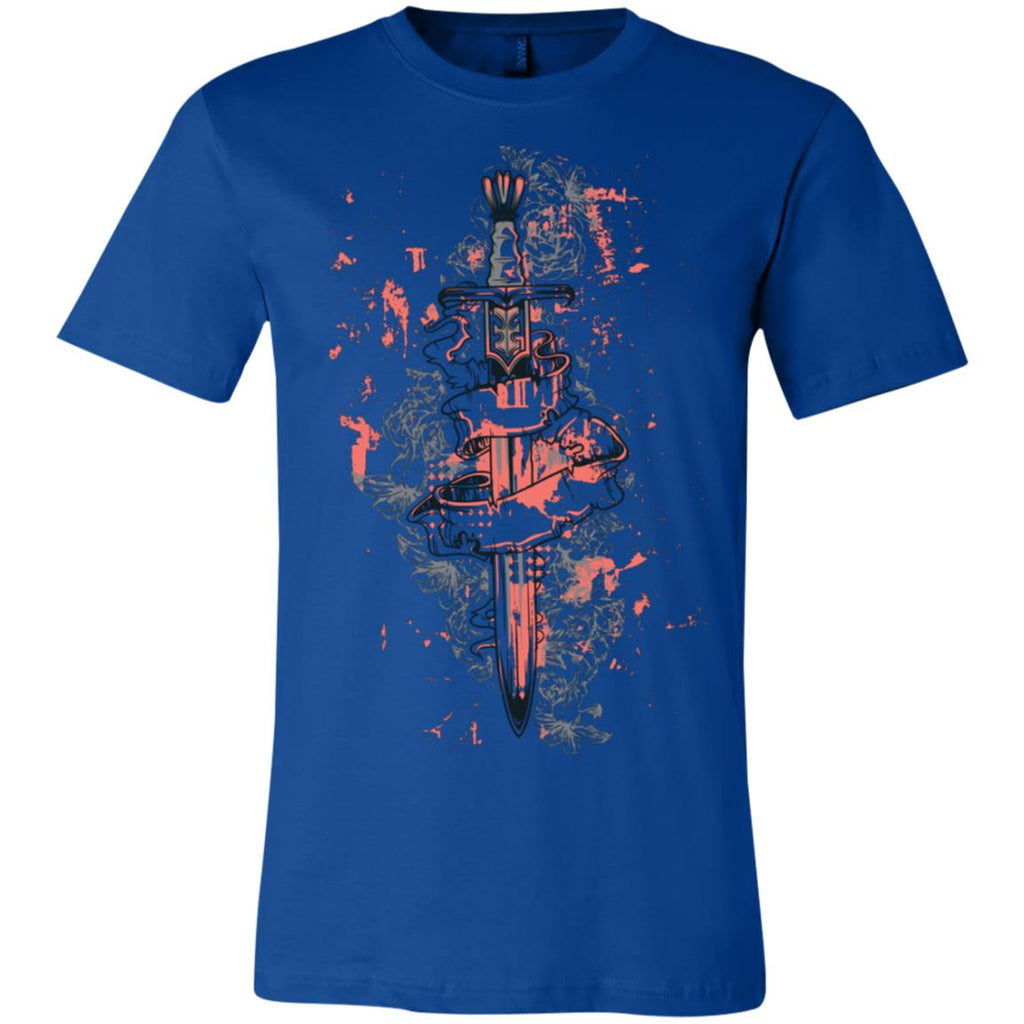 D586 Vintage Sword 3001C Bella + Canvas Unisex Jersey Short-Sleeve T-Shirt, T-Shirts, Whip Me Wear Fashion & T-Shirts