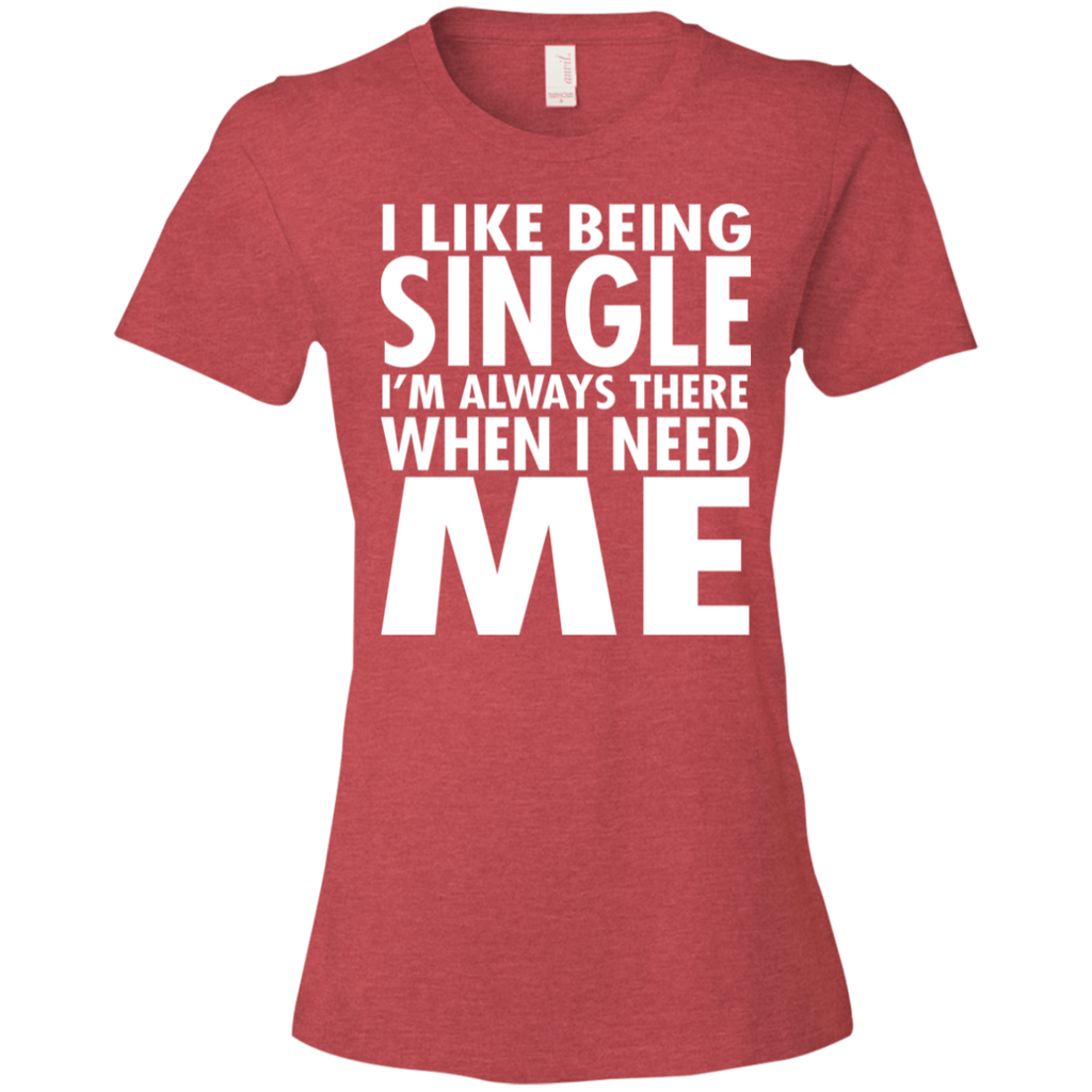 80 I Like Being Single I'm There When I Need Me 880 Anvil Ladies' Lightweight T-Shirt 4.5 oz, T-Shirts, Whip Me Wear Fashion & T-Shirts