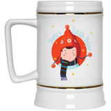 V1385 Santa's Little Helper 22217 Beer Stein 22oz., Drinkware, Whip Me Wear Fashion & T-Shirts