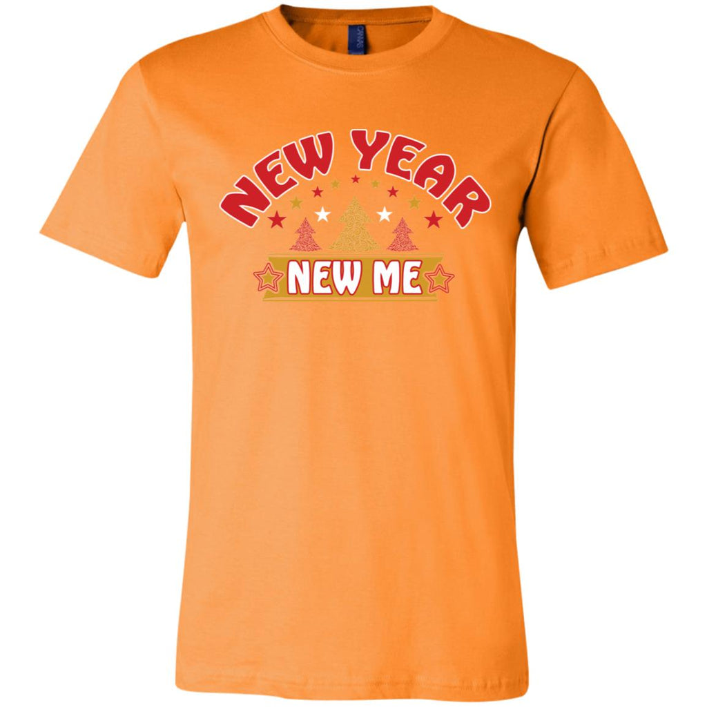 D1527 New Year New Me 3001C Bella + Canvas Unisex Jersey Short-Sleeve T-Shirt, T-Shirts, Whip Me Wear Fashion & T-Shirts
