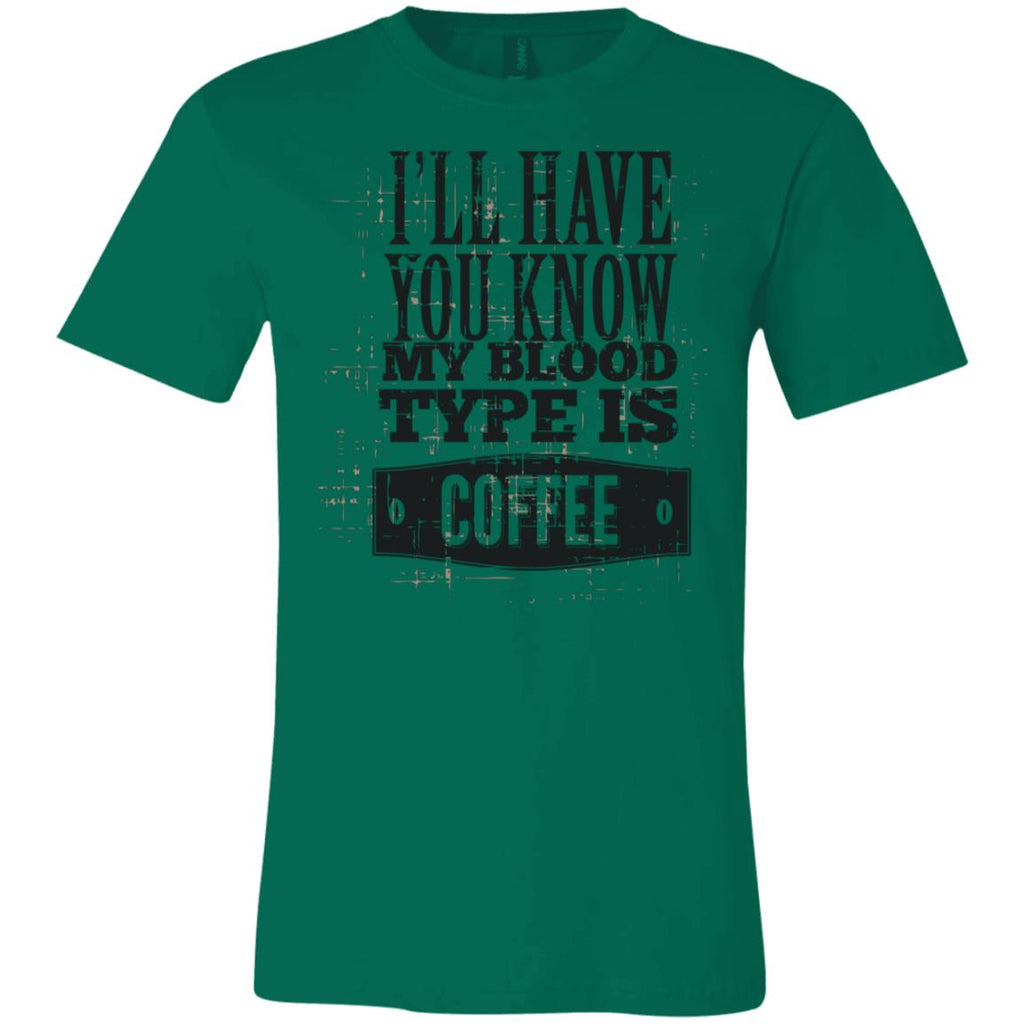 Blood Type Coffee T-Shirt D651, T-Shirts, Whip Me Wear Fashion & T-Shirts
