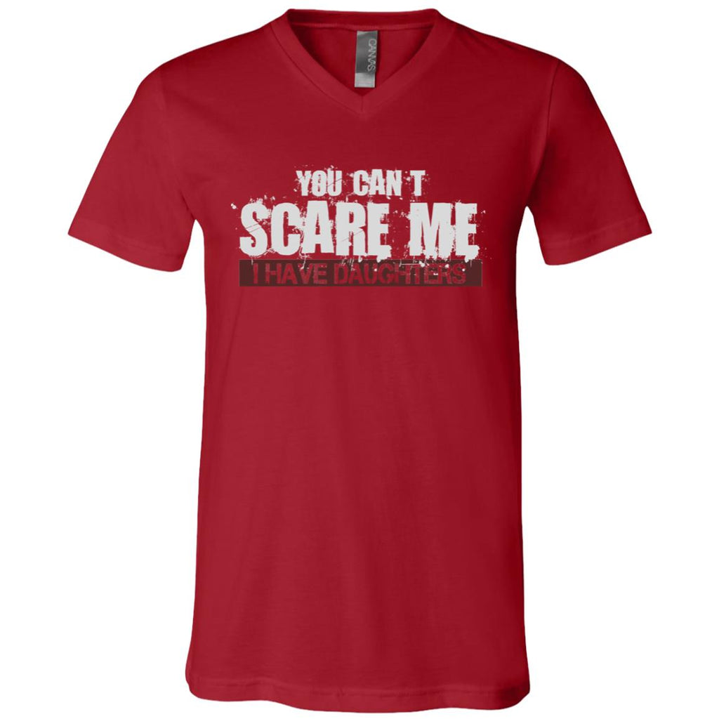 691 I Have Daughters 3005 Bella + Canvas Unisex Jersey SS V-Neck T-Shirt, T-Shirts, Whip Me Wear Fashion & T-Shirts