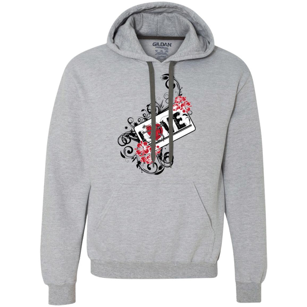 D121 Love Graphic G925 Gildan Heavyweight Pullover Fleece Sweatshirt, Sweatshirts, Whip Me Wear Fashion & T-Shirts