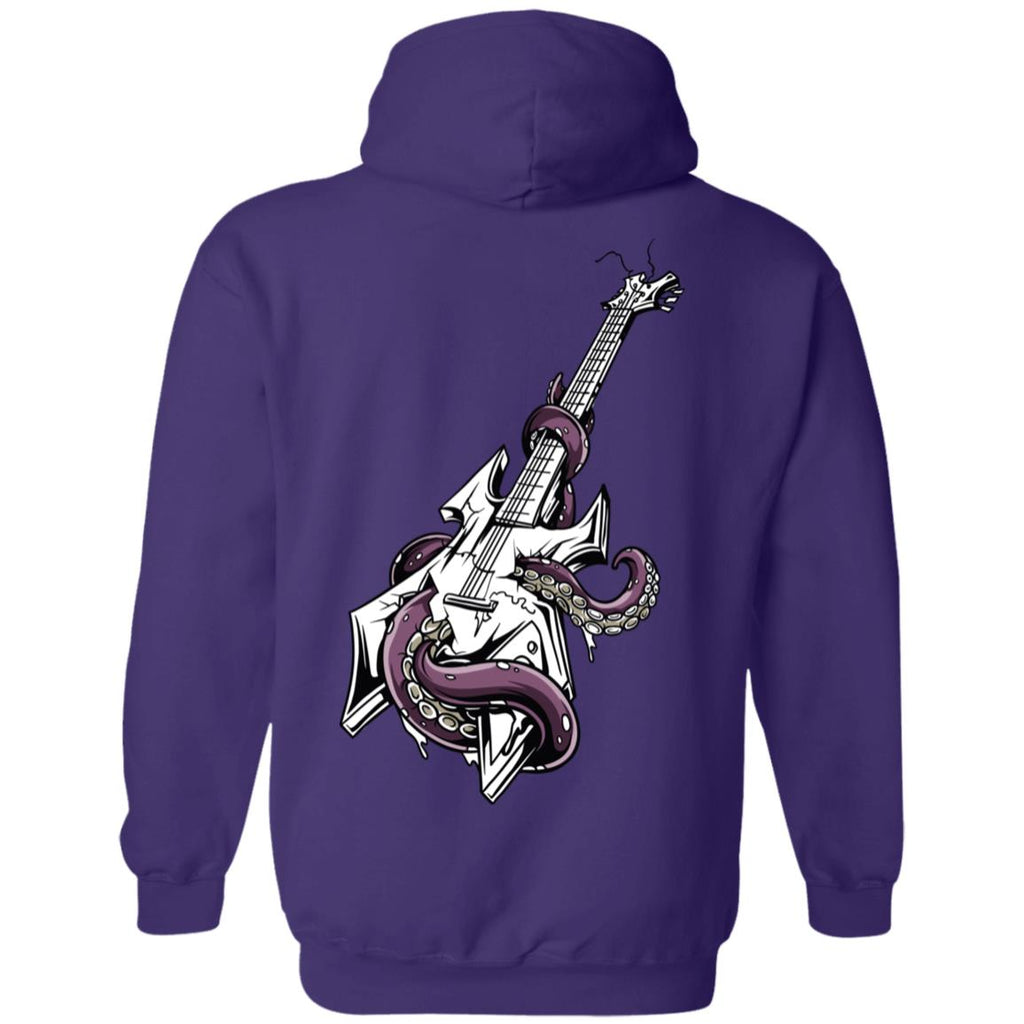 D641 Octo Guitar G185 Gildan Pullover Hoodie 8 oz., Sweatshirts, Whip Me Wear Fashion & T-Shirts