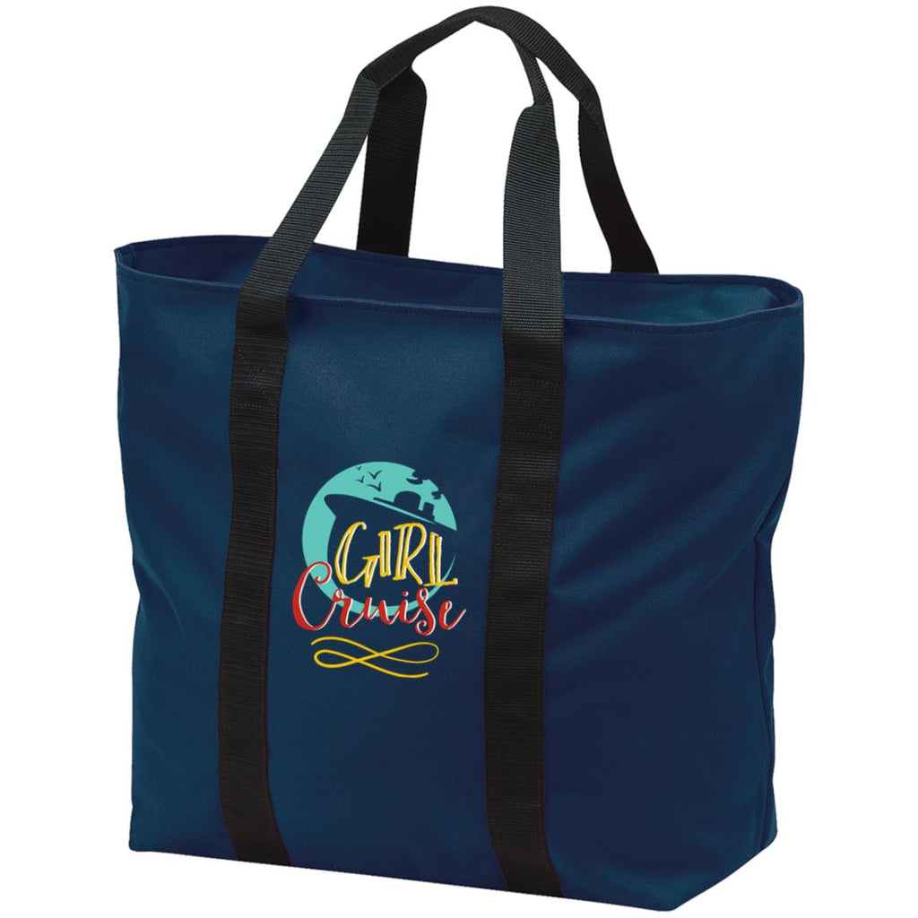 D25 Girl Cruise B5000 Port & Co. All Purpose Tote Bag, Bags, Whip Me Wear Fashion & T-Shirts