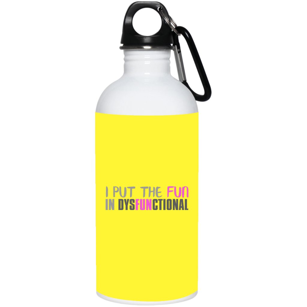 759 23663 20 oz. Stainless Steel Water Bottle, Drinkware, Whip Me Wear Fashion & T-Shirts