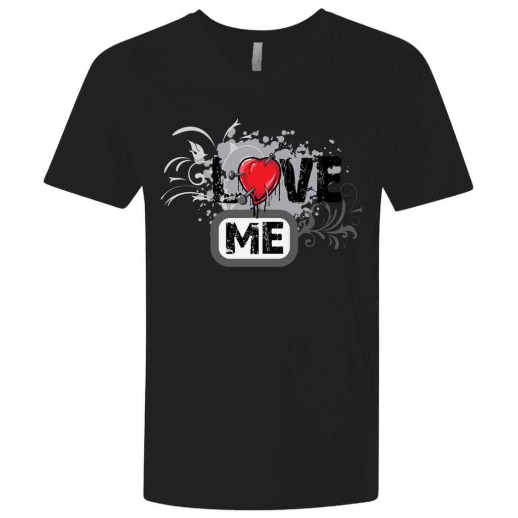 NL3200 Next Level Men's Premium Fitted SS V-Neck, T-Shirts, Whip Me Wear Fashion & T-Shirts
