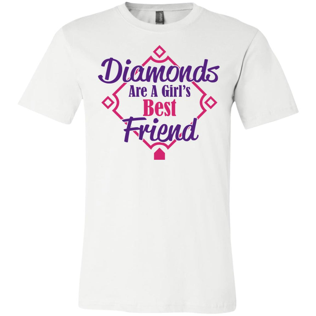 Diamonds Are A Girls Best Friend Short-Sleeve T-Shirt #01, T-Shirts, Whip Me Wear Fashion & T-Shirts