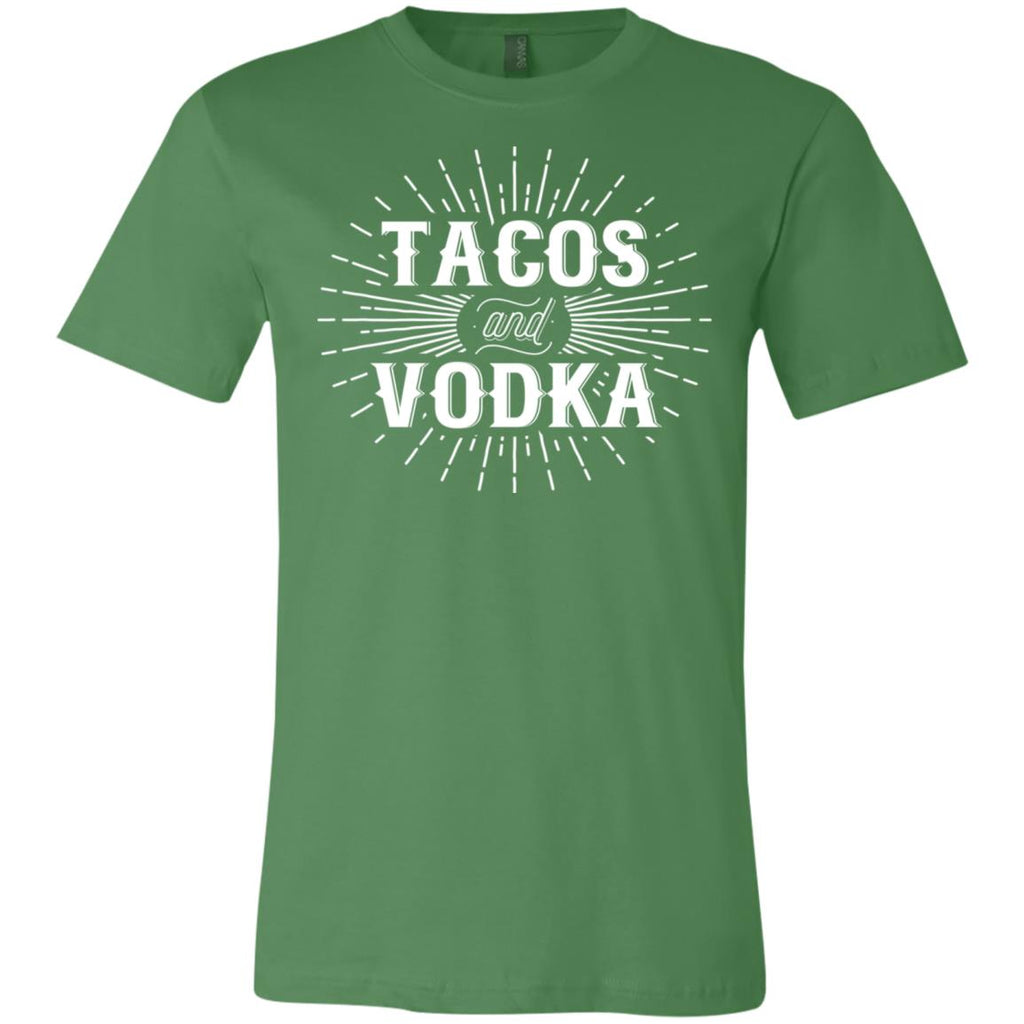 559 Tacos And Vodka 3001C Bella + Canvas Unisex Jersey Short-Sleeve T-Shirt, T-Shirts, Whip Me Wear Fashion & T-Shirts