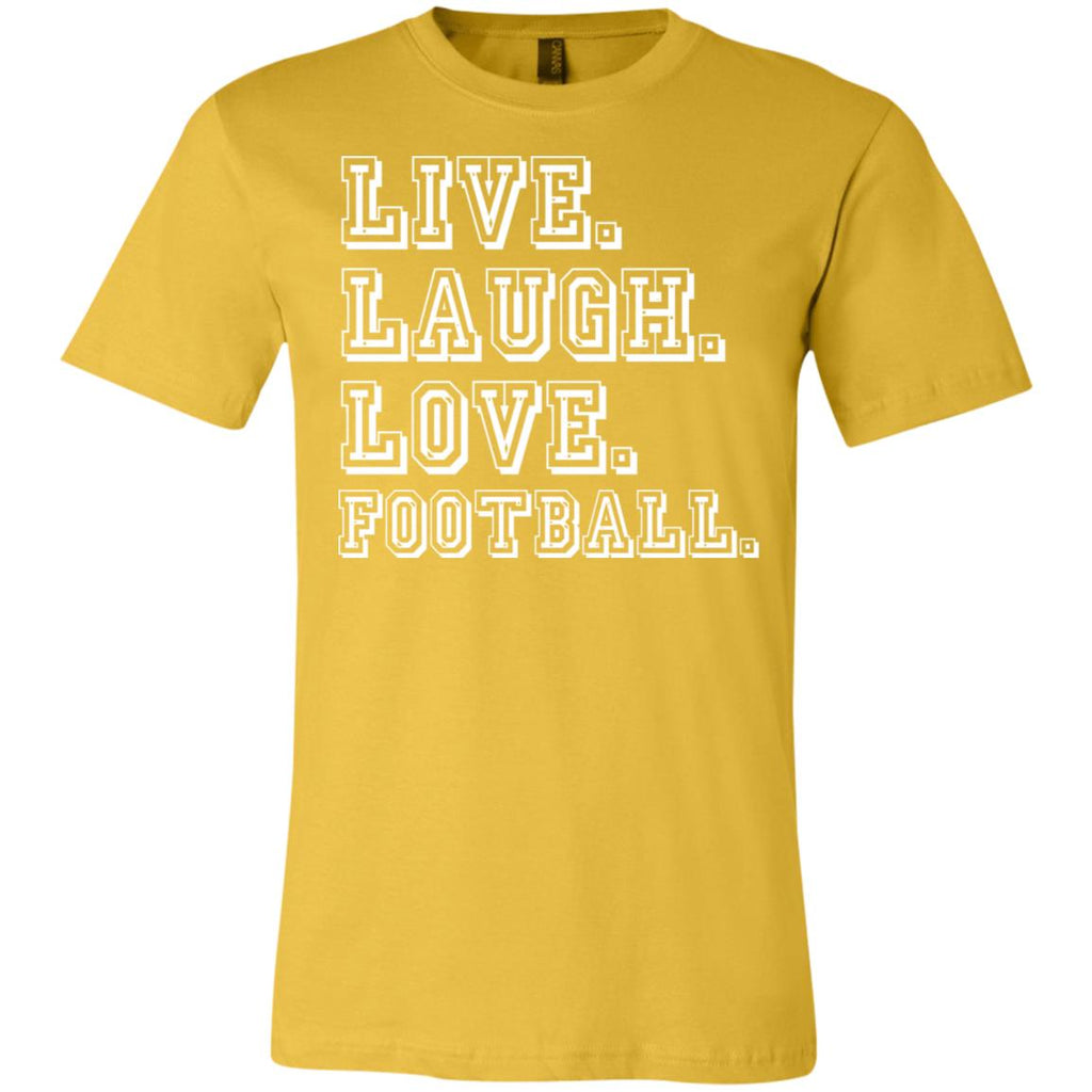 274 Love Football 3001C Bella + Canvas Unisex Jersey Short-Sleeve T-Shirt, T-Shirts, Whip Me Wear Fashion & T-Shirts