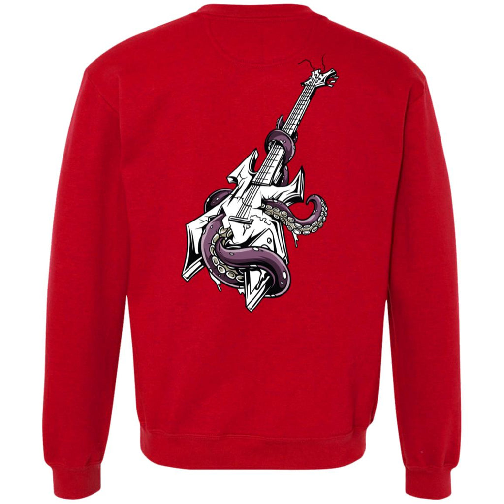 D641 Octo Guitar G920 Gildan Heavyweight Crewneck Sweatshirt 9 oz., Sweatshirts, Whip Me Wear Fashion & T-Shirts