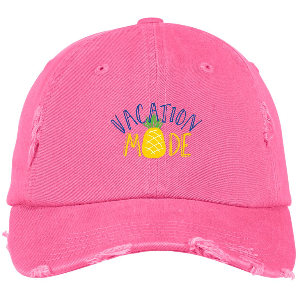 C3 Vacation Mode DT600 District Distressed Dad Cap, Hats, Whip Me Wear Fashion & T-Shirts