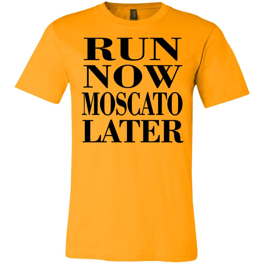 Z02 Run Now Moscato Later 3001C Bella + Canvas Unisex Jersey Short-Sleeve T-Shirt, T-Shirts, Whip Me Wear Fashion & T-Shirts
