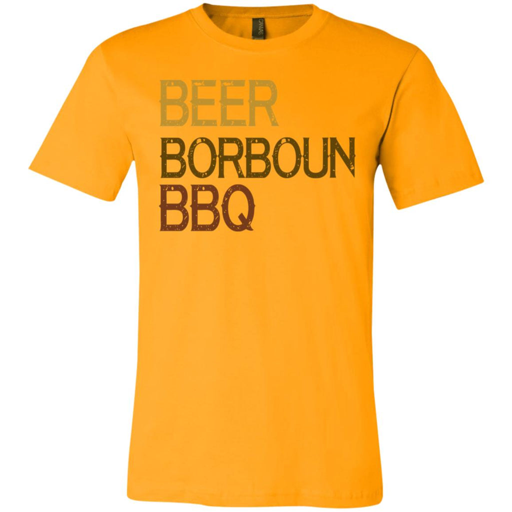 690 Beer Borboun BBQ  3001C Bella + Canvas Unisex Jersey Short-Sleeve T-Shirt, T-Shirts, Whip Me Wear Fashion & T-Shirts