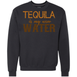 586 Tequila Is My New Water G920 Gildan Heavyweight Crewneck Sweatshirt 9 oz., Sweatshirts, Whip Me Wear Fashion & T-Shirts