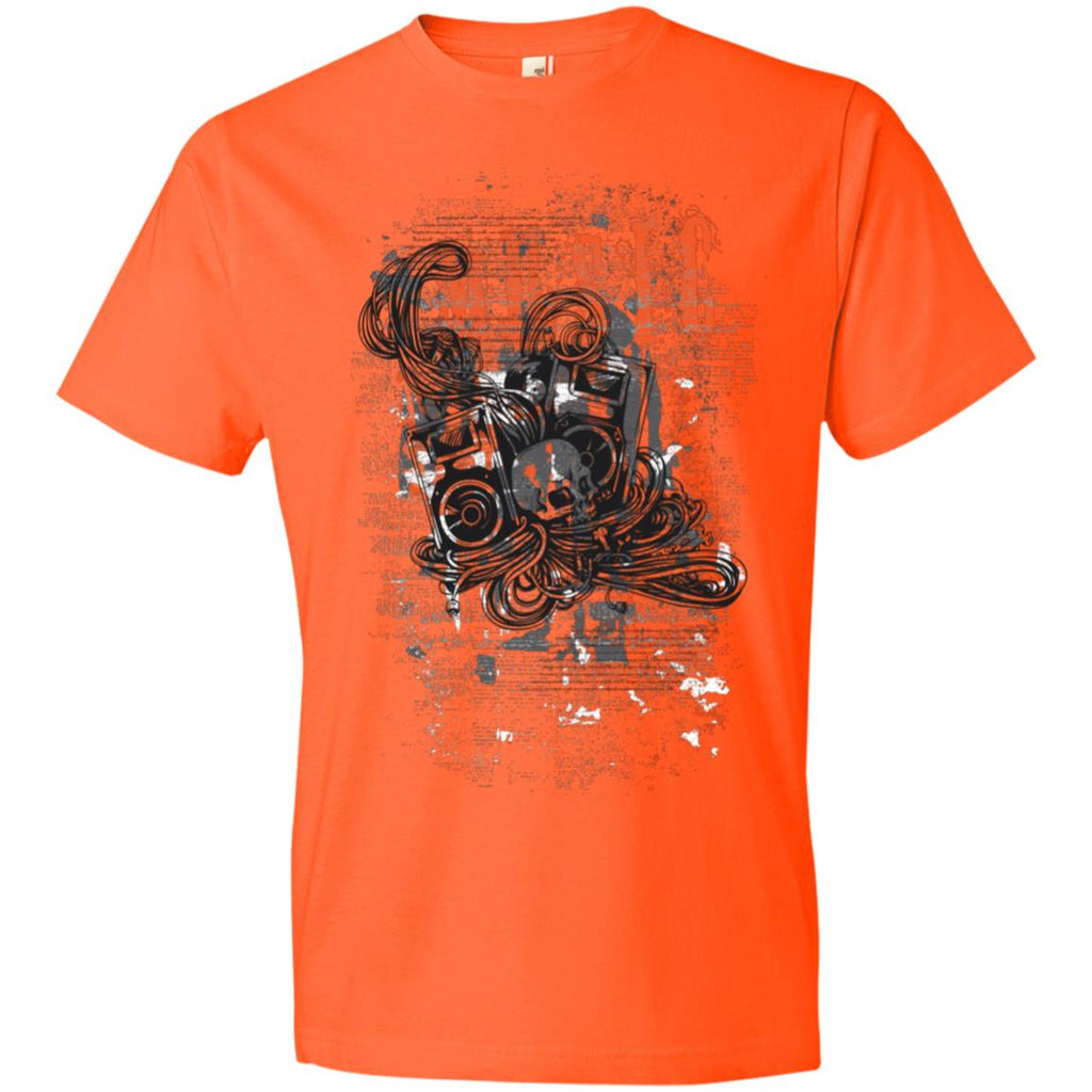 D377 Music Graphic 980 Anvil Lightweight T-Shirt 4.5 oz, T-Shirts, Whip Me Wear Fashion & T-Shirts