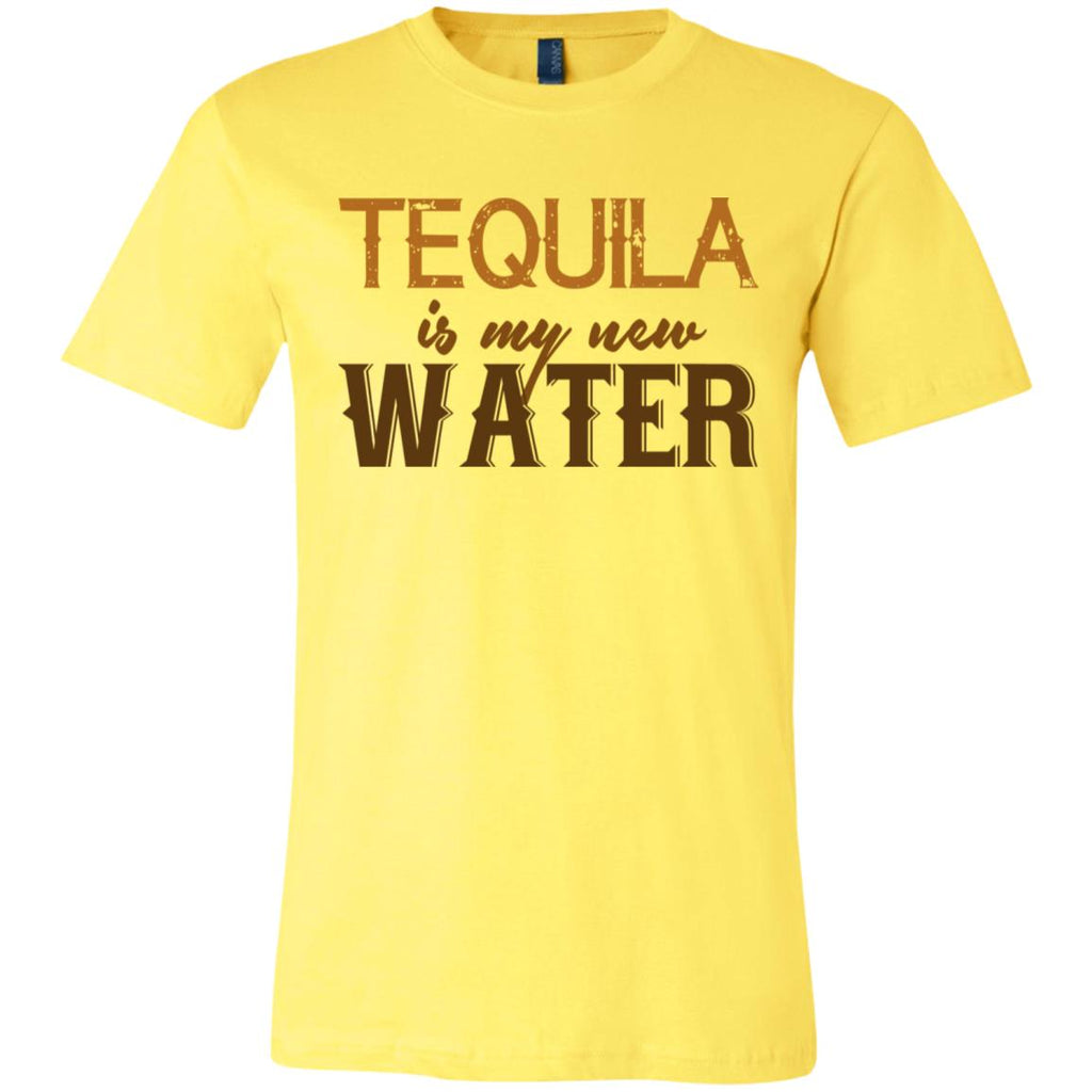 586 Tequila Is My New Water 3001C Bella + Canvas Unisex Jersey Short-Sleeve T-Shirt, T-Shirts, Whip Me Wear Fashion & T-Shirts