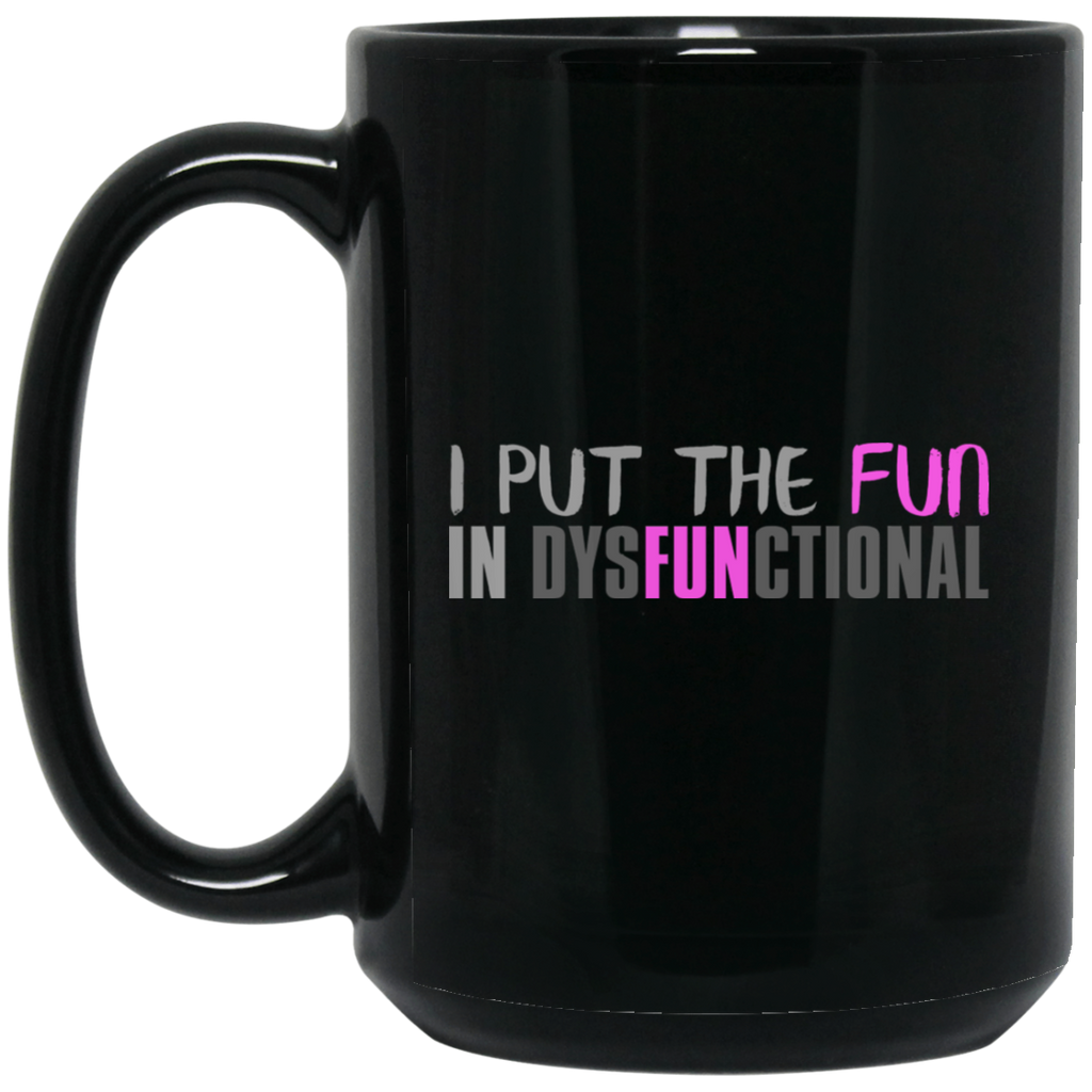 759 15 oz. Black Mug, Drinkware, Whip Me Wear Fashion & T-Shirts