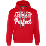 43  But Now I'm Perfect G925 Gildan Heavyweight Pullover Fleece Sweatshirt, Sweatshirts, Whip Me Wear Fashion & T-Shirts