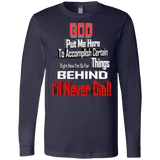 GB1 GOD BEHIND 3501 Bella + Canvas Men's Jersey LS T-Shirt, T-Shirts, Whip Me Wear Fashion & T-Shirts