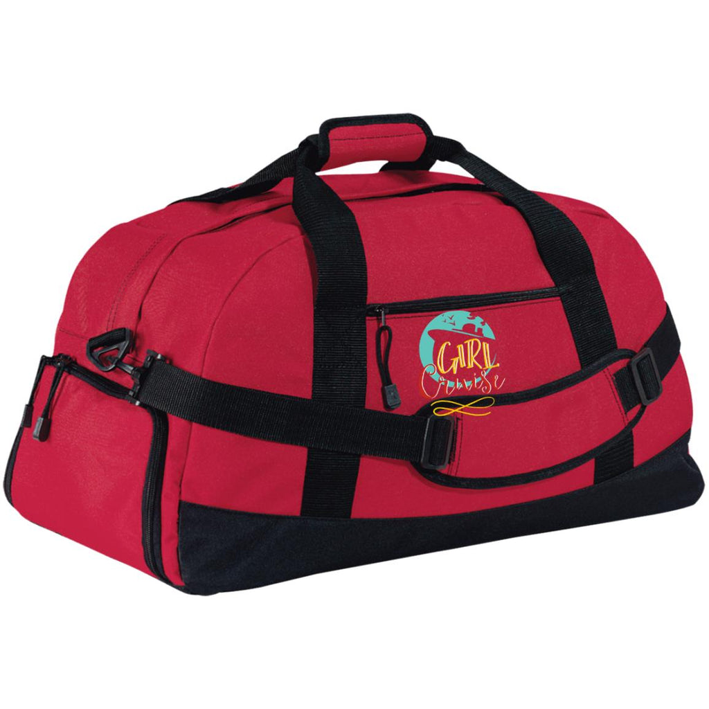 D25 Girl Cruise BG980 Port & Co. Basic Large-Sized Duffel Bag, Bags, Whip Me Wear Fashion & T-Shirts