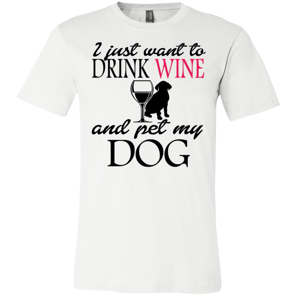 Drink Wine Pet Dog T-Shirt Z04, T-Shirts, Whip Me Wear Fashion & T-Shirts