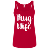 669 Thug Wife 6488 Bella + Canvas Ladies' Relaxed Jersey Tank, T-Shirts, Whip Me Wear Fashion & T-Shirts