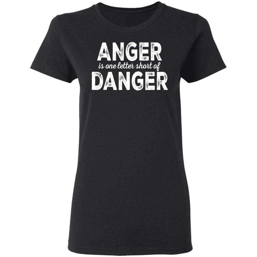 V197 Anger Danger Ladies' T-Shirt