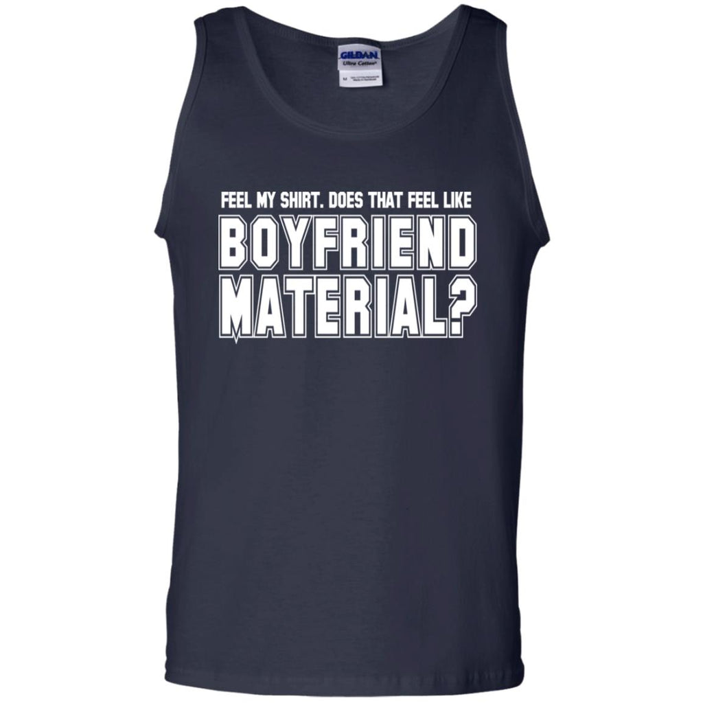 240 Boyfriend Material G220 Gildan 100% Cotton Tank Top, T-Shirts, Whip Me Wear Fashion & T-Shirts