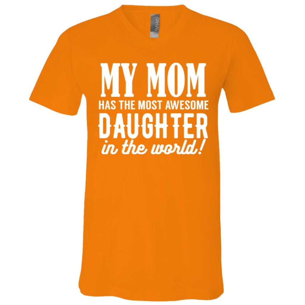 146 Mom Daughter 3005 Bella + Canvas Unisex Jersey SS V-Neck T-Shirt, T-Shirts, Whip Me Wear Fashion & T-Shirts